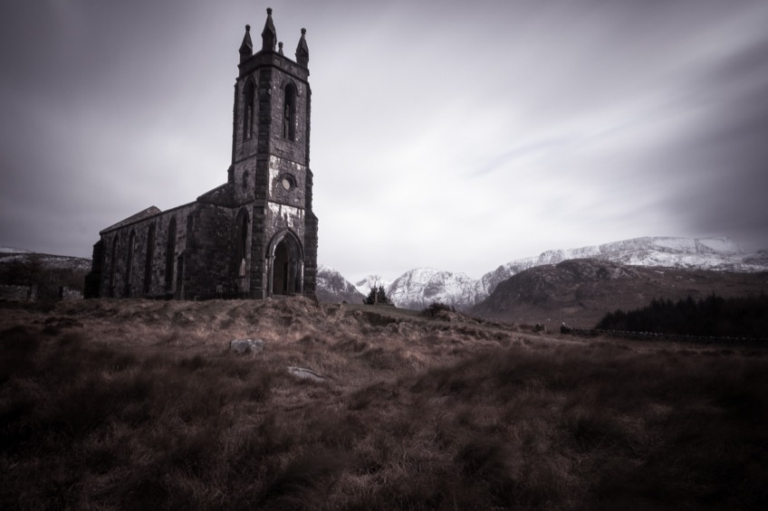 Dunlewey Church Long Exposure