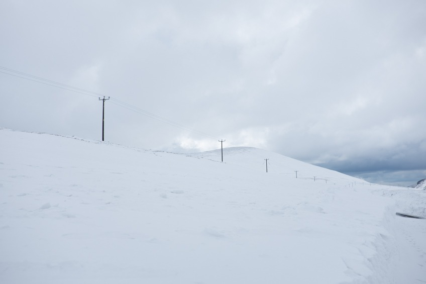 Mourne Easter Snow