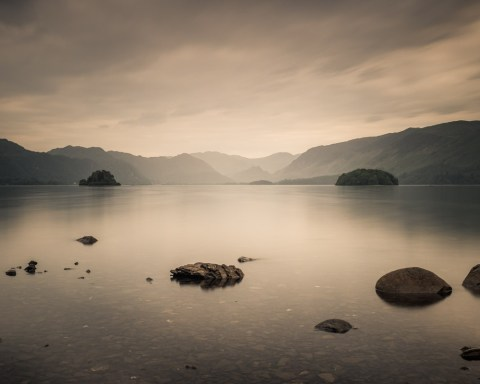 Derwentwater long exposure