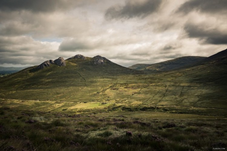 Hen Mountain in the Mourne Mountains