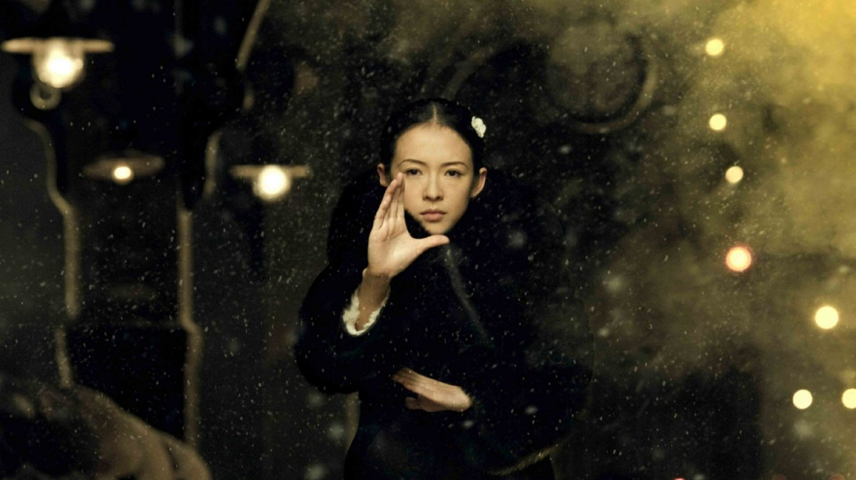 Zhang Ziyi as bagua master Gong Er in Wong Kar Wai's The Grandmaster