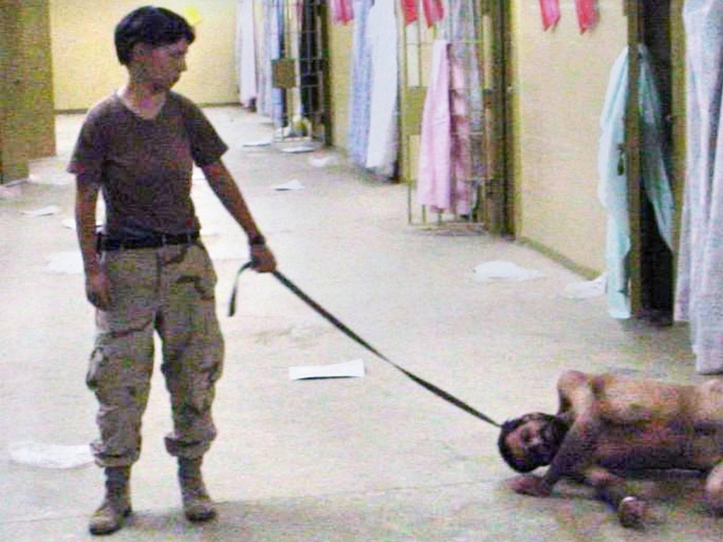 Lynndie England and the inhumane treatment of Abu Ghraib detainees