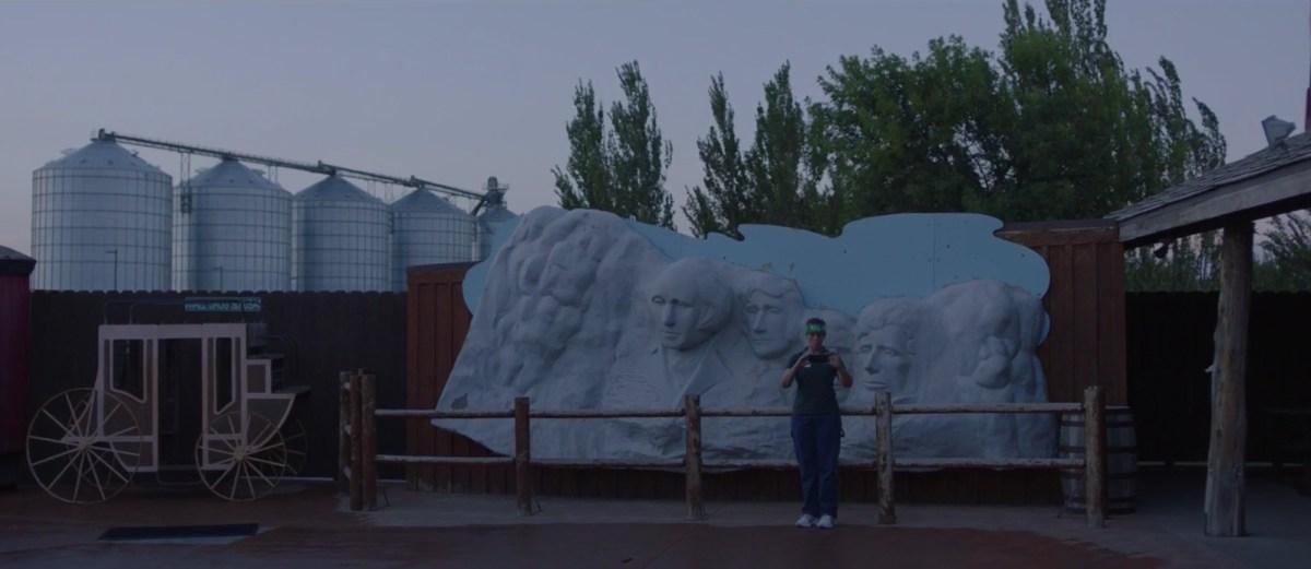 Frances McDormand in Chloe Zhao's Nomadland (2020)
