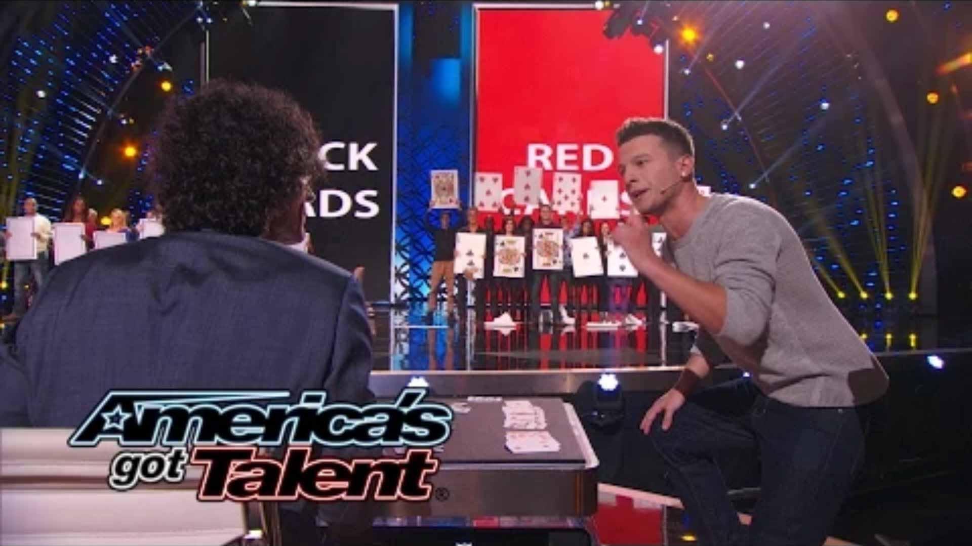 Mat Franco MindBlowing Magic Performance  Americas Got