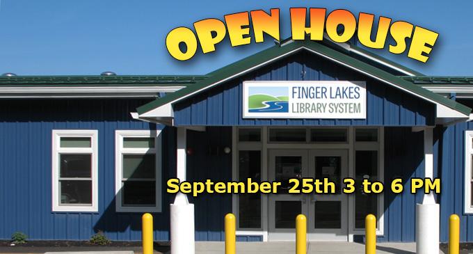 Finger Lakes Library System to Host Open House  Finger