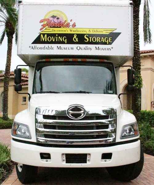 Florida's Decorators Warehousing & Delivery Commercial Moving