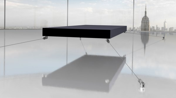 Magnetic Floating Bed