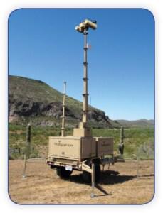 Border Surveillance Trailer