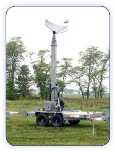 Mobile Mast on Trailer