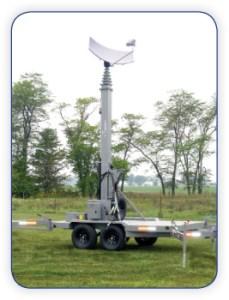 Mobile Mast on Trailer