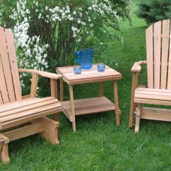 Wood Lawn Chair Metal Chairs Glider Furniture Home Designs Project
