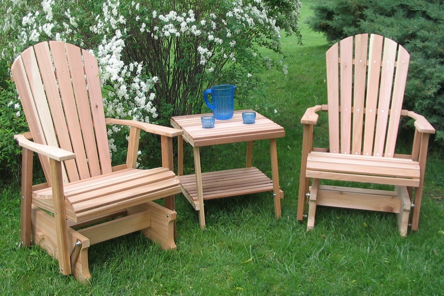 lawn chairs barrel that swivel glider furniture home designs project