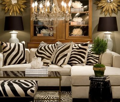 animal print living room Animal Print Living Room Decorating Ideas