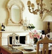 dining room flower arrangements | Home Designs Project