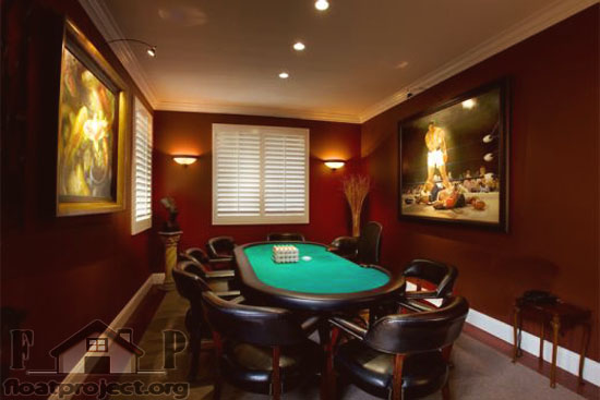 Home Poker Room Home Designs Project
