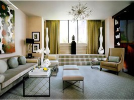 Retro Living Room Design Ideas and Tips   Home Designs Project