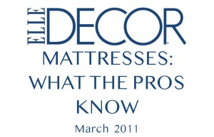 Elle Decor: What the Pros Know