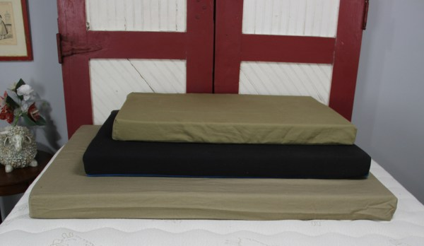dog beds in three sizes