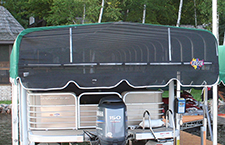 Mesh End option for canopies.