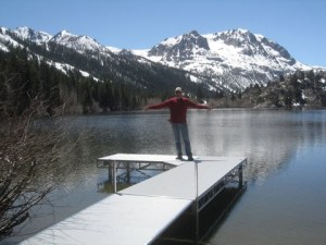 Floe Dock_Gull Lake, CA