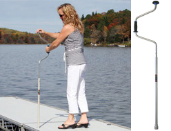 Speed wrench accessory for docks.
