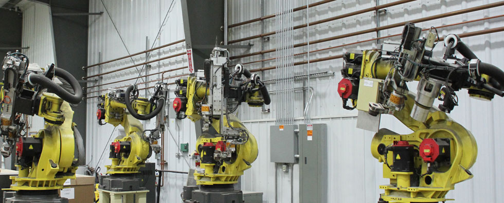 Finishing capabilities with robots.