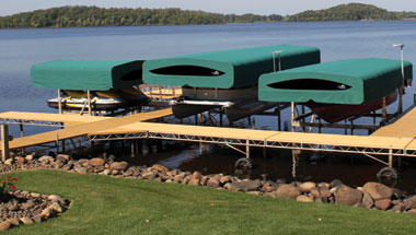 Aluminum Roll in Docks, Sectional Docks and Floating Docks FLOE
