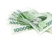 korean cash