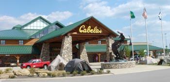 Cabelas in Wheeling West Virginia