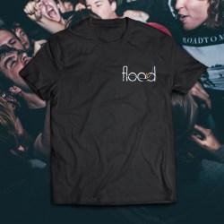 Logo Pocket-print shirt