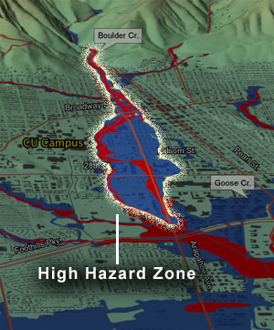 Boulder High Hazard Zone