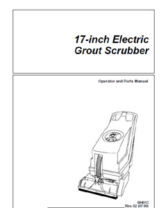 Part Manual for BlueStar Auto Scrubber 607048