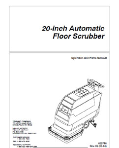 Part Manual for BlueStar Auto Scrubber 608852