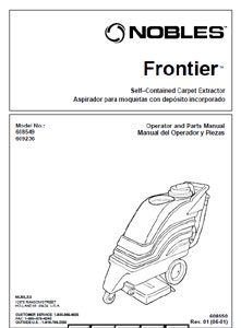 Part manuals for Nobles Frontier