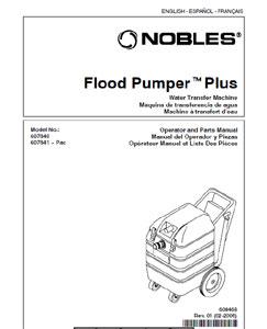 Part manuals for Nobles Flood Pumper