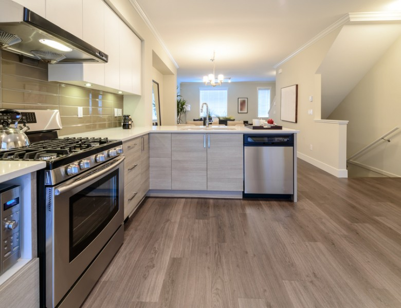 kitchen vinyl play island flooring floor factory a picture of