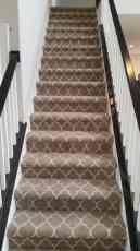 Patterned Staircase Carpet