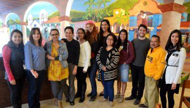 Centro Hispano team