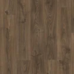 Quickstep Luxury Vinyl Tile Dark Brown Cottage oak dark brown