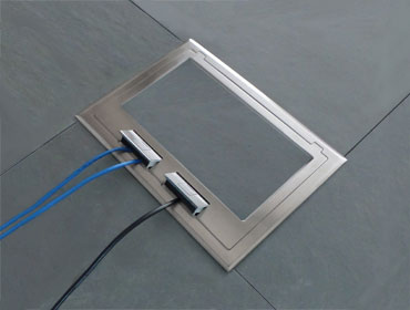 Electrical floor box  Supplied by FloorBoxSystemscom