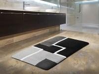 Badezimmer-Teppich rund Patty
