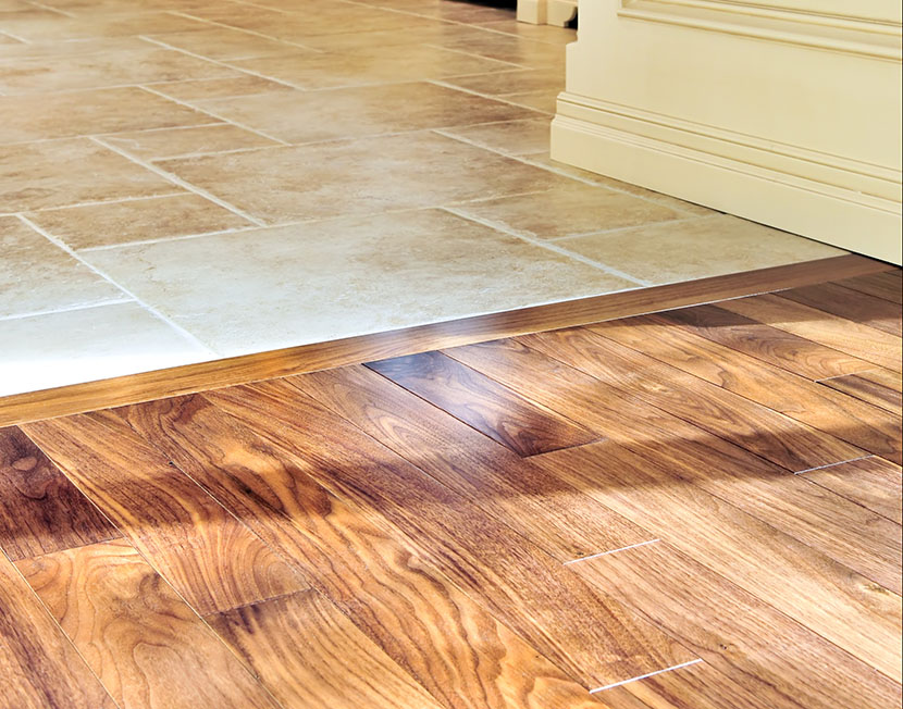 how to transition between floor surfaces