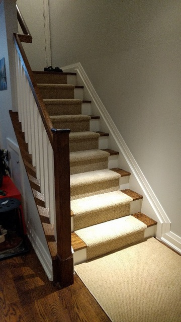 Home Office Carpet Installation Stair Runners Refinishing | Berber Carpet For Stairs | Decorative | Waterfall Stair | Sophisticated | Durable | Master Bedroom