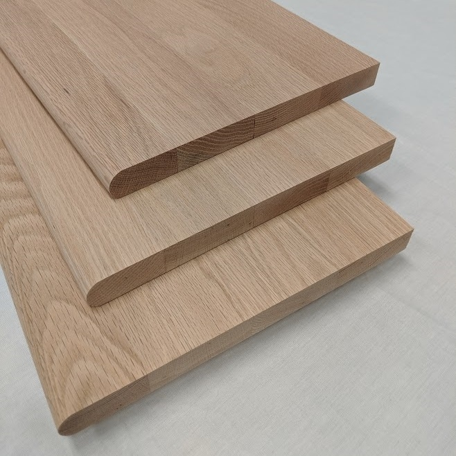 Red Oak Stair Treads And Risers Prefinished And Unfinished   Pre Stained Stair Treads   Stain Wood   Luxury   Natural Wood   Step   Gray Wood
