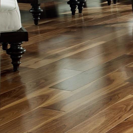 Unfinished Solid Walnut Flooring  American Hardwood