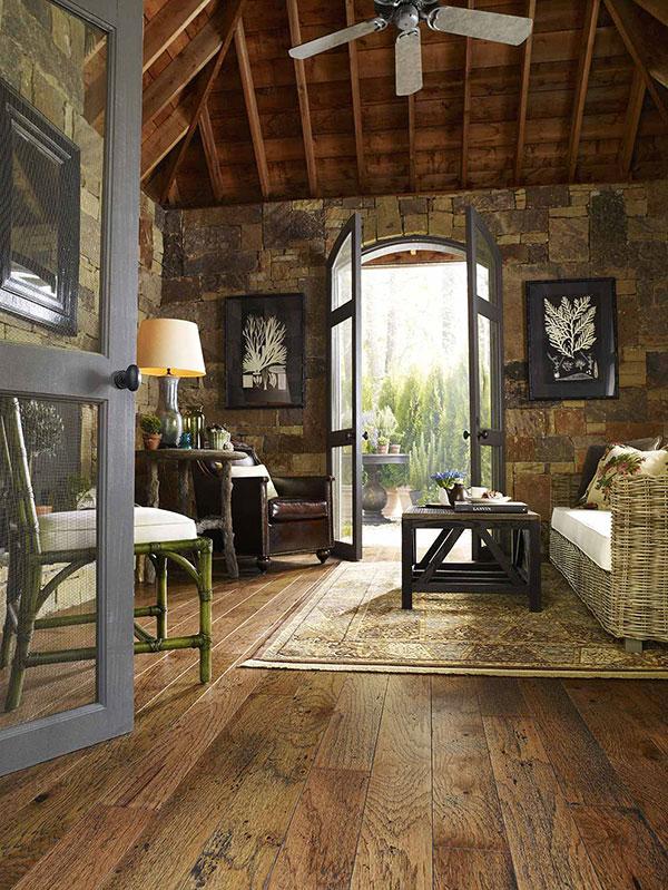 Rustic Cabin Interior Design Ideas Inspiration Flooring America