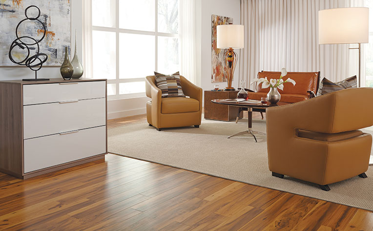 living room decor with hardwood floors colors for dark brown furniture mustard yellow ideas flooring america