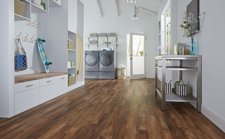 What is Luxury Vinyl  Is It Waterproof  Flooring America