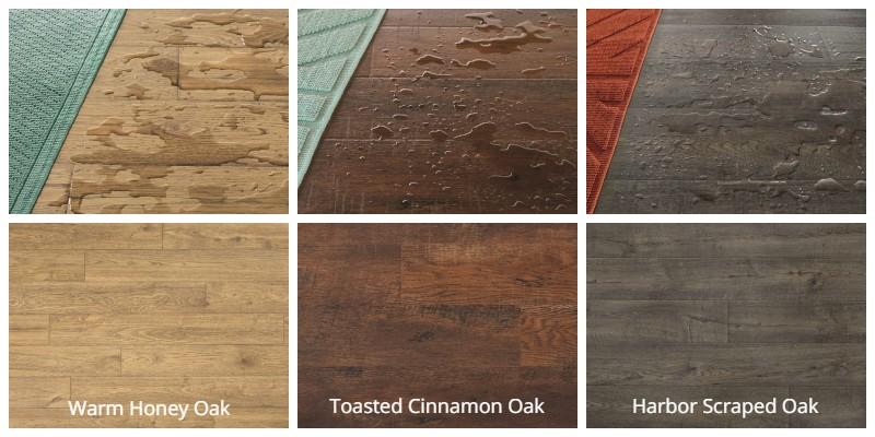 Harmonics Glueless Laminate Flooring, Toasted Cinnamon Oak Laminate Flooring