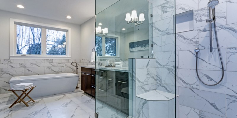 best tile for showers and bathrooms